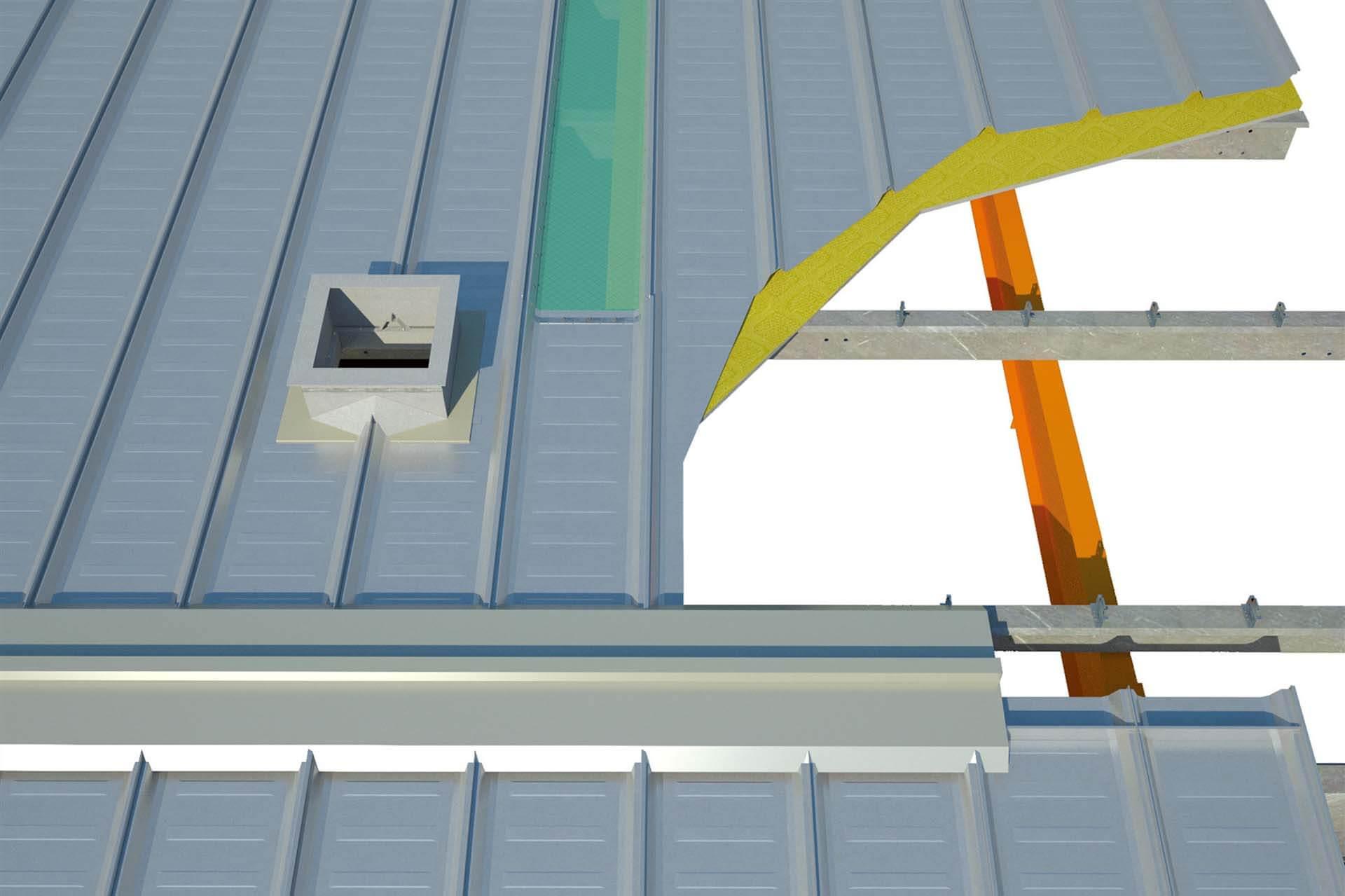 360°直立锁缝屋面