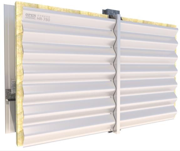 经典的大波纹横板:HR-780
